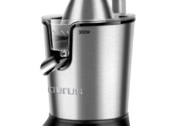 Exprimidor de palanca Taurus Easy Press 300 zumos de forma sencilla
