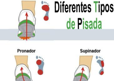 Los diferentes tipos de pisada del corredor: Neutro, pronador o Supinador.