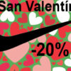 Este san Valentín Nike te descuenta un 20%