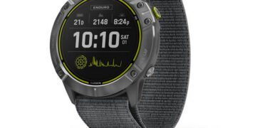 Enduro: Nuevo reloj de Garmin, ligero y de alto rendimiento