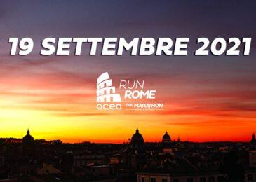 Maratón de Roma 2021