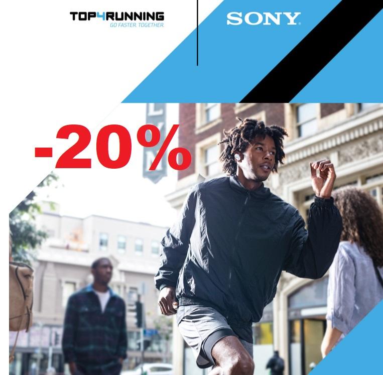 Descuento del 20% en auriculares Sony