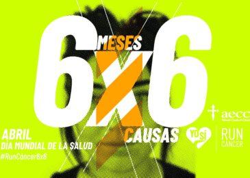#RunCáncer6x6 Abril