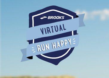 Brooks Virtual Run Happy 2021