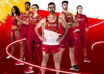 Joma presenta la equipación de los atletas españoles para los JJOO de Tokio