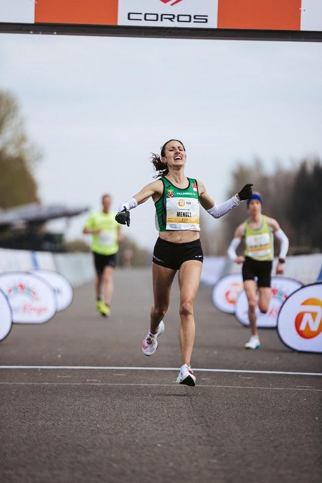 Laura Méndez consigue Mínima olímpica