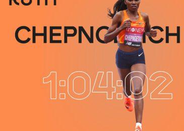 Ruth Chepngetich récord del mundo de media maratón en Estambul