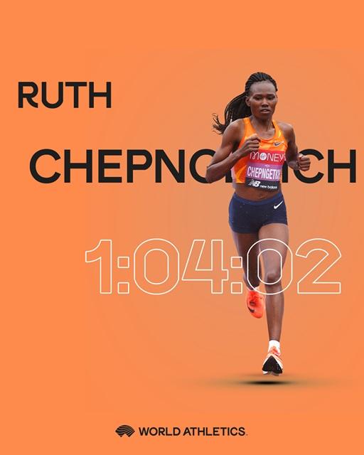 Ruth Chepngetich WR