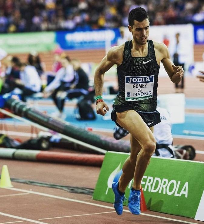 Jesus Gomez Récord de España 1.000m