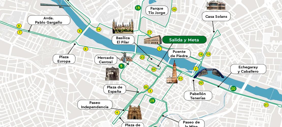 Recorrido-Maraton-Zaragoza