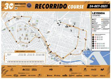 Nuevo recorrido para el Medio Maratón de Valencia